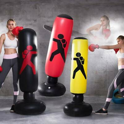 Heavy Duty Free Standing Boxing Punch Bag Kick Art UFC Training Indoor Sports ff