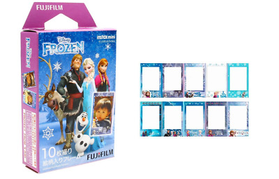 2019-03 Fujifilm Instax Disney Frozen Elsa 10 Sheets For Mini 9 8 7s 70 90 25