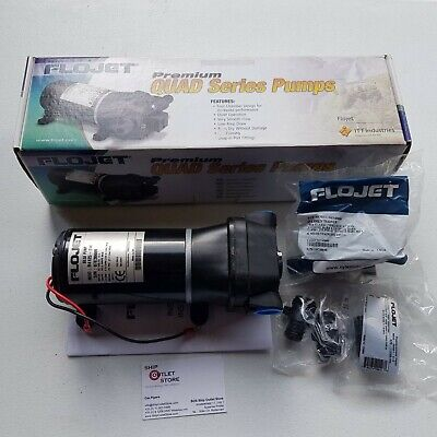 Self-priming diaphragm pump Jabsco Flojet R4125114A