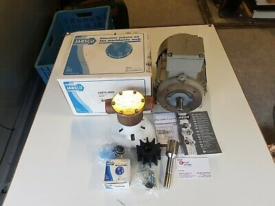Jabsco bronze water pump with 230/400V-3Ph electric Pump type 22870-2001-2003