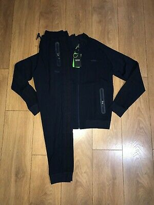 Hugo Boss tracksuit navy tape zip top and bottoms reg fit all sizes