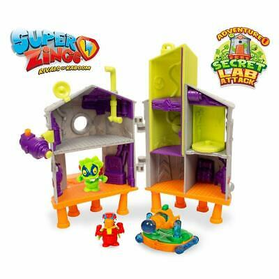 Superzings - Secret Lab Adventure 1 con 2 exclusivas figuras SuperZin ENVIO 24H