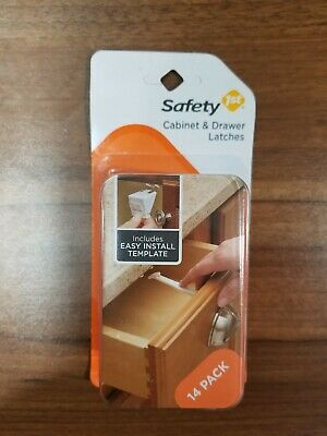 Safety 1st Cabinet And Drawer Latches (14 Pack)