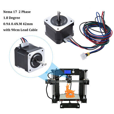 Nema 17 1.8° Stepper Motor Drive Control for 3D Printer DIY 42mm 0.4N.M 1PC V8K9