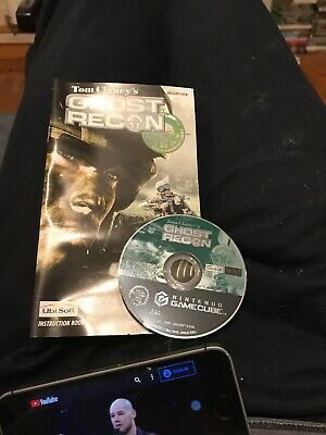 Tom Clancys Ghost Recon GameCube Disc And Manual Only
