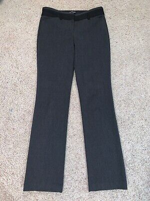 Women's Express Gray And Black Editor Dress Pants Size 6R