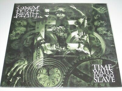Napalm Death - Time Waits For No Slave LP Vinyl with CD