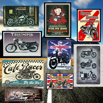 Calender Pinups and Aged Soda Signs Vintage Tin Sign Decor Classic Car Cuties