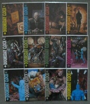 Doomsday Clock #1-12 Variant Set..geoff Johns..dc 2019 1St Print..nm.watchmen