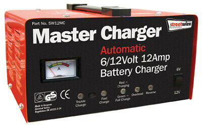 Master Charger Automatic Battery Charger 6/12v  12 Amp