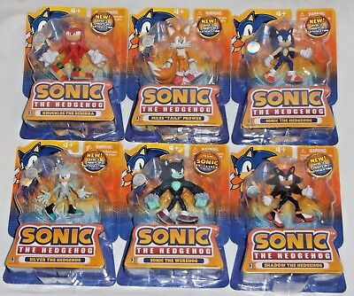 Toysrus Sonic Hedgehog Shadow Knuckles Tails Silver Werehog Exclusive Figures 299 99 Picclick