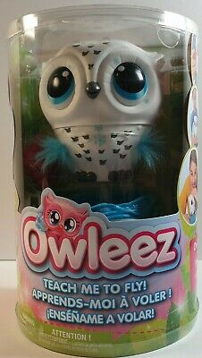 Owleez Flying Baby Owl Interactive Toy Brand New Sealed Spin Master Toys White