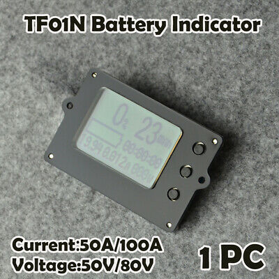 Battery Capacity Indicator Monitor Voltmeter DC 50-80V For Lithium / Lead-acid