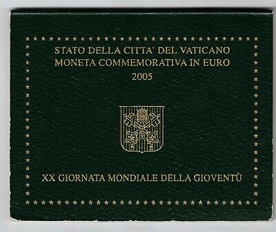2005 Vatican UNC Youth Day 2 Euro