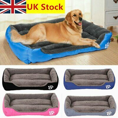 Large Pet Dog Cat Bed Puppy Cushion Mats House Waterproof Kennel Warm Blanket ZU