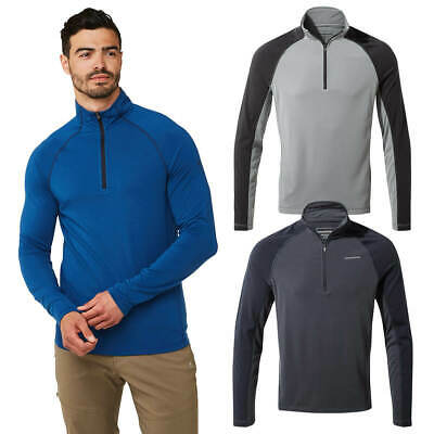Craghoppers Mens 1st Layer Half Zip Long Sleeve Thermal Baselayer 58% OFF RRP