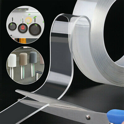 1M Multifunctional non-marking Double-sided Tape Transparent Nano Gel Washable