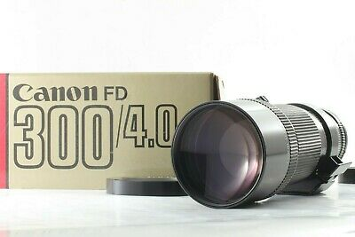 【 TOP MINT in BOX 】 Canon New FD 300mm f/4 MF Telephoto NFD Lens From JAPAN #233