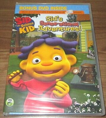 SID THE SCIENCE Kid Sid's Backyard Campout DVD Camping ...