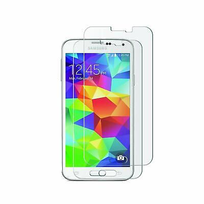 Screen Protector Tempered Glass 9H Hardness Bubble Free for Samsung Galaxy S5