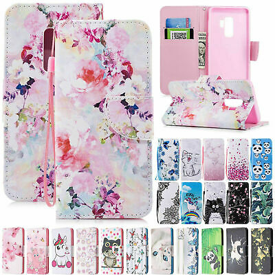 Fr Samsung Galaxy S10 S8 S9 Note 10 Plus 5G Wallet Leather Stand Flip Case Cover