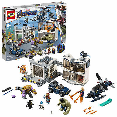 LEGO Super Heroes Avengers Compound Battle Set 76131 New Boxed Free 24h Delivery