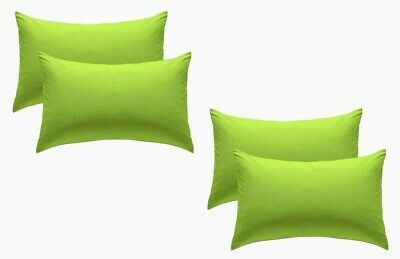 SMALL SIZE 60X40 CM COTTON SATTAN Cotton Blend Cream Pack of 4 Housewife Pillow