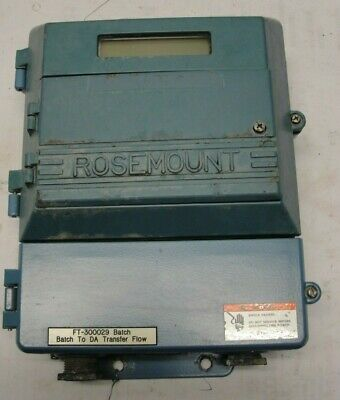 Rosemount  8712 CR12 Smart Family Magnetic Flow Transmitter USED