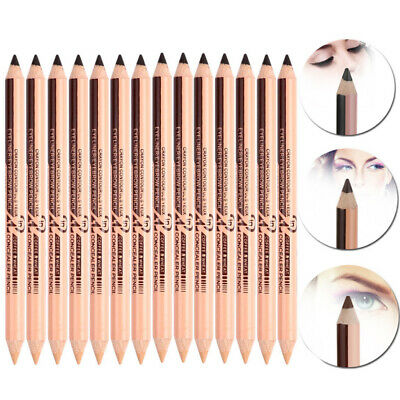 1pc Miele Concealer Dual-use Pencil Eyebrow Eyeliner Double-head