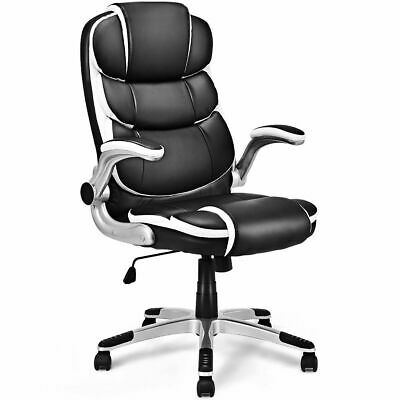 Synthetic Leather High Back Office Chair Swivel Desk Task Computer Ergonomic New