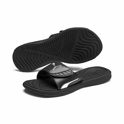 Details about Puma Ladies Slippers Beach Sandals Popcat Reinvent Wns 370696 Black