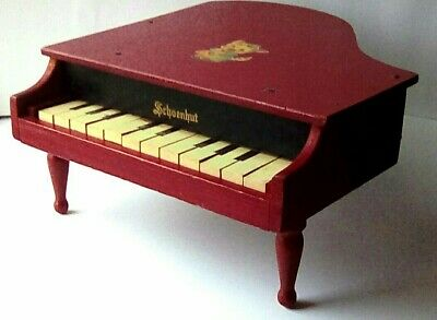 Childs Vintage Baby Grand Piano 163 8 00 Picclick Uk