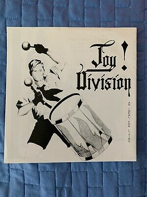 Joy Division a ideale for Living White label Promo RARE  45 7 sngle