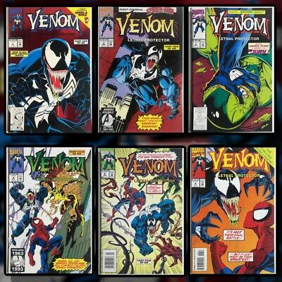 Venom Lethal Protector (Full Run #1-6, All NM)