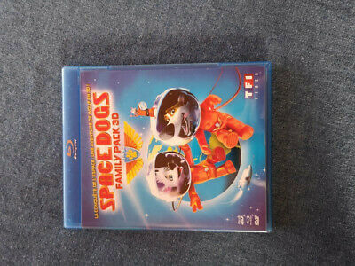 Space dogs BLU-RAY 3D + BLU-RAY + DVD NEUF SOUS CELLOPHANE