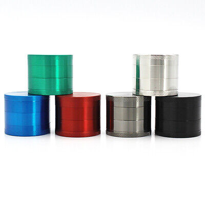 1pc Manual Pepper Coffee Grinder Metal Zinc Alloy Mill 4 Layer 4 Colours