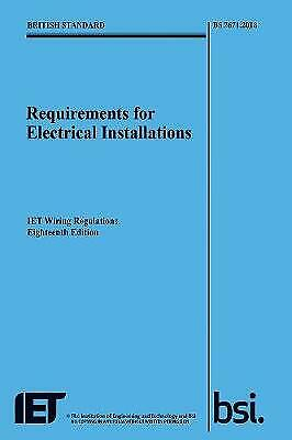 Requirements for Electrical Installations, IET Wiring Regulat... - 9781785611704