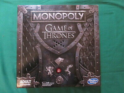 Monopoly - Game Of Thrones Adult Edition - 2018 - Board Game - Factory Sealed