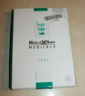 Relaxsan Medicale Soft M1190 ATM Closed Toe Maternity Tights Size 5XXL NEW