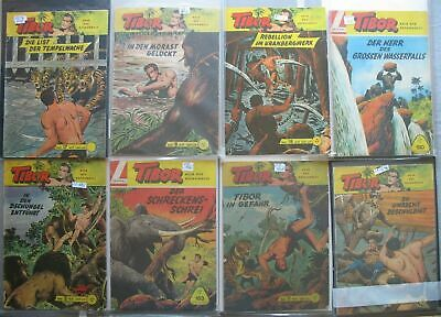 Lehning Comic Convolute Collection Tibor in 12 Folders 451 Piece Issues