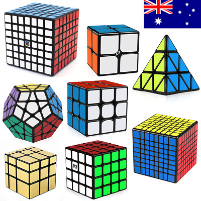 Magic Cube Smooth Speed Cube Puzzle Rubik 3x3 7x7 4x4 Pyramid Rubics Rubix cube