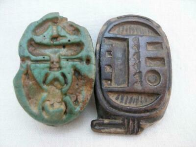 Two Ancient Egyptian Seals From A Private Collection.