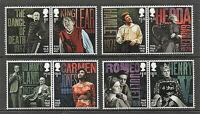 GB Stamps 2018 'Bicentenary of The Old Vic, London' - U/M
