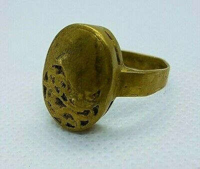Rare Ancient Vintage Ring Viking Bronze Legionary Stunning Authentic Artifact