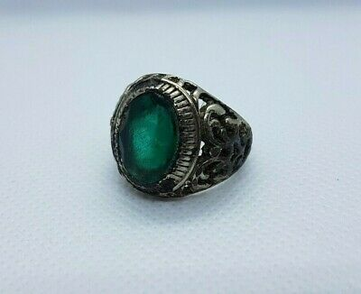 Rare Ancient Extremely Ring Metal Roman Legionary Old Ring Authentic Artifact