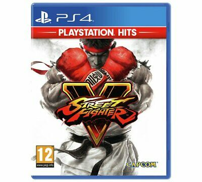 NEW & SEALED! Street Fighter V Hits Sony Playstation 4 PS4 Game