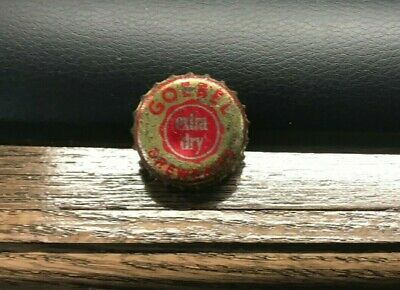 Vintage Goebel Beer - Brewing Cork Bottle Cap Crown Detroit Mi Michigan