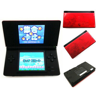 Red Dragon Refurbished Nintendo DS Lite Game Console NDSL Video Game System