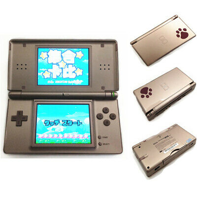 Rose Gold Refurbished Nintendo DS Lite Game Console NDSL Video Game System