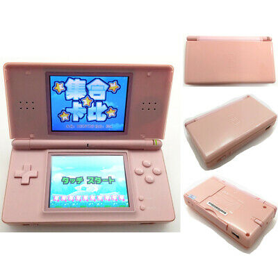 Pink Refurbished Nintendo DS Lite Game Console NDSL Video Game System W/ Charger